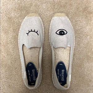 Soludos slip on shoes size 7